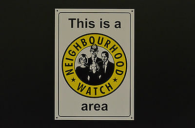 This Is A Neighbourhood Watch Area Sign Or Sticker A6 A5 Or A4 Screen Printed