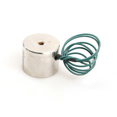 DC 12V 11lbs/5Kg Electric 4W Lifting Magnet Electromagnet Solenoid Lift Holding