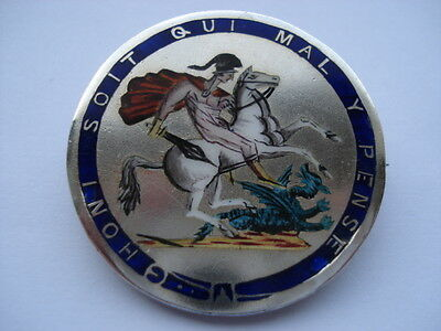 George 111 Nine Colour Hand Enamelled Crown Coin