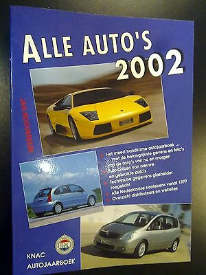 Alle Auto's 2002 door Jan Rooderkerk