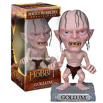 Lord of the Rings The Hobbit GOLLUM Bobble Head Wacky Wobbler Tolkein FUNKO 2844