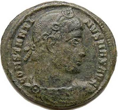 Constantine The Great Scarce Nicomedia B AE3 Camp-gate