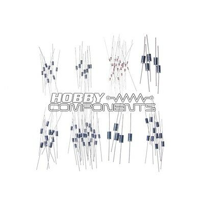100pcs/lot Rectifie Diodes Schottky Barrier Diode Assortment Kit