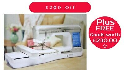 Brother  Innovis V5 Sewing Quilting & Embroidery Machine 0% Finance Available
