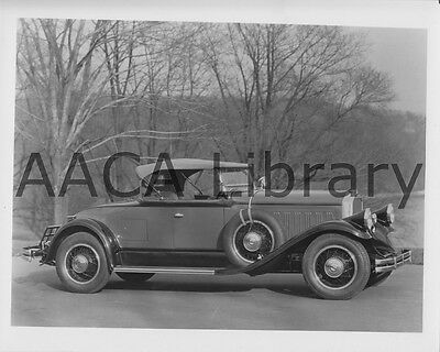 1929 Pierce-Arrow Series 133 Roadster, Factory Photo / Picture (Ref. #65208)