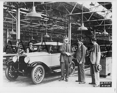 1929 Plymouth U Roadster on Assembly Line, Factory Photo / Picture (Ref. #67121)