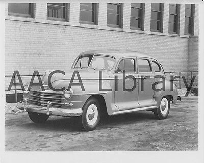 1946 Plymouth P15 C Special Deluxe Sedan, Factory Photo / Picture (Ref. #67401)