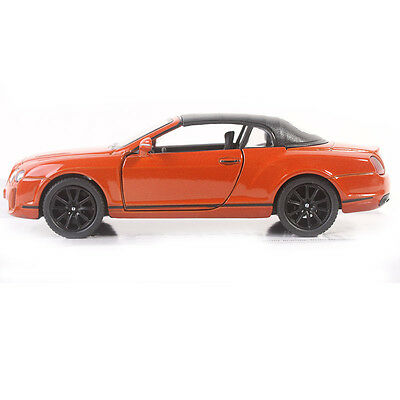 1:38 2010 Bentley Continental Supersports Convertible Color DarkOrange