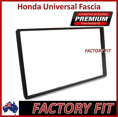 :For Honda Universal double-din Radio Fascia Stereo Adapter Dash Trim Facia Kit
