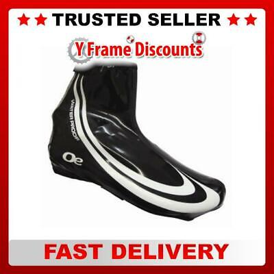 Outeredge Waterproof Lycra Cycling Bike Overshoes with Reflective Strips