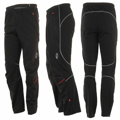 SOBIKE NENK Black Winter Cycling Tights Casual Bike Wind Pants with Pockets