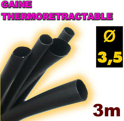 GV1-2# gaine thermorétractable verte 1mm 2m ratio 2//1 gaine thermo