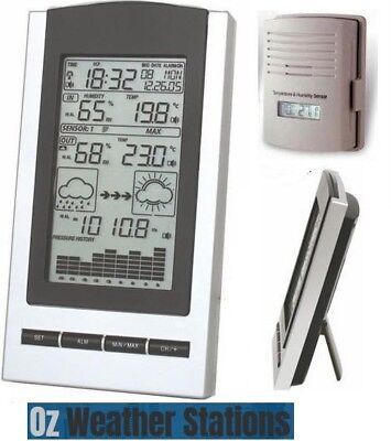 Semi-Pro Wireless Weather Station with Outdoor Sensor