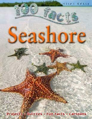 100 Facts Seashore by Steve Parker (English) Paperback Book Free Shipping!