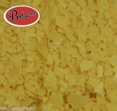 T3 Carnauba Wax Flakes - make furniture wax polish - Blends With Beeswax - 1kg