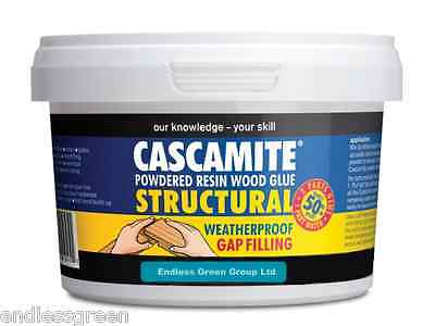 Cascamite Exterior Wood Glue - Strong & Waterproof - external woodwork - 500g