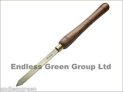 PARTING TOOL - Walnut handle woodturning chisel for spindle work  15mm x 4.7mm