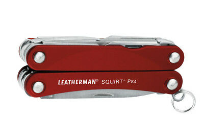 kQ LEATHERMAN SQUIRT® PS4 Rot Multifunktionswerkzeug Multitool LTG 831227