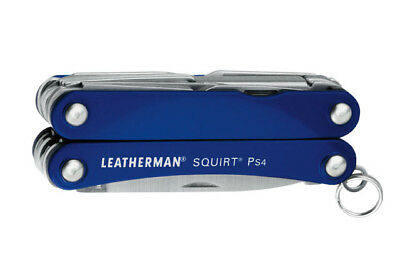 kQ LEATHERMAN SQUIRT PS4 Blau Multifunktionswerkzeug Multitool LTG 831230
