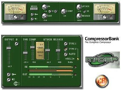 McDSP CompressorBank - Plug-In for ProTools *BRAND NEW*