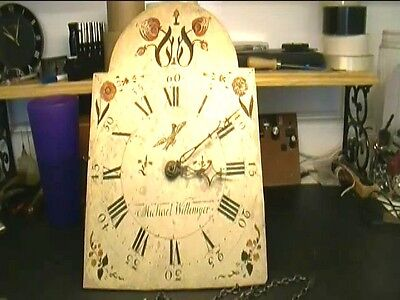 Clock Repair DVD Video - English 1 Day Grandfather, Continuous Weight Chain