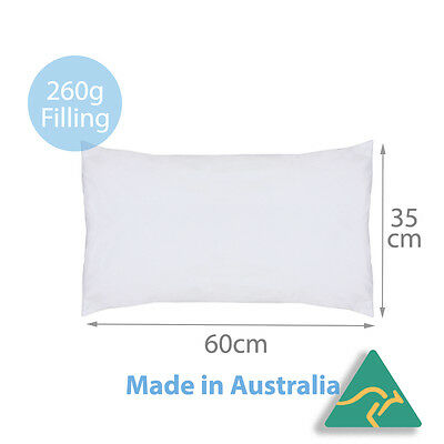 Aus Made Brand New Cushion Inserts Polyester Fibre 35x60CM