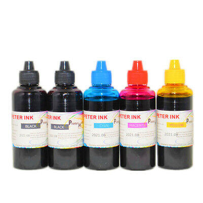 4X100 refill Ink for all Brother LC75 LC95 cartridge printer