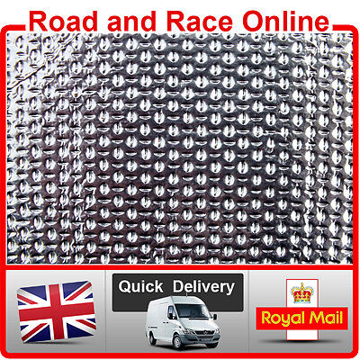 Motorcycle Fairing Panel Exhaust Engine HEAT SHIELD Self Adhesive Sheet New