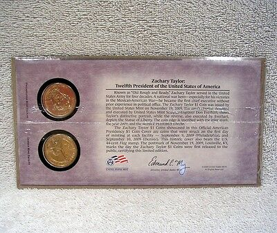 2009 Zachary Taylor First Day Cover Sealed Unopened Presidential Dollar Set P32