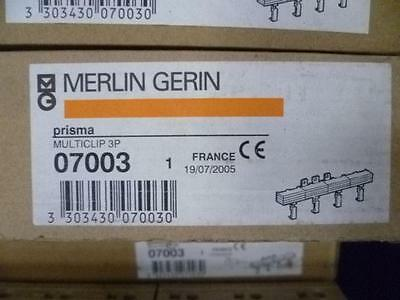 MERLIN GERIN PRISMA MULTICLIP 3 Phase 07003 BUSBAR 180A DISTRIBUTION BLOCK 415V