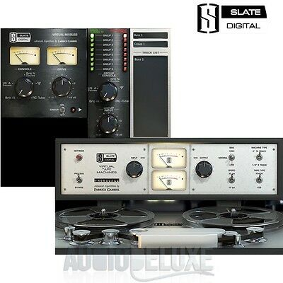 Slate Digital Virtual Console Collection And Virtual Tape Machines Bundle