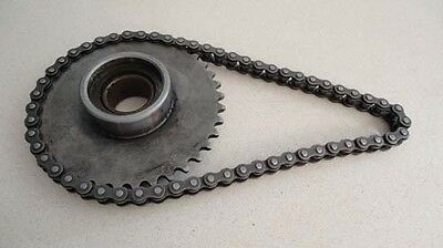 Honda C102 starter sprocket and chain