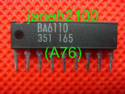 8 PCS, BA6110 OP Amplifier IC IC'S CHIP NEW