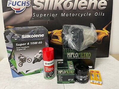 Suzuki Sv 650 Service Kit 99-02 With Free Chain Lube