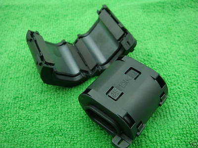 1PCS TDK Clip On EMI RFI Filter Snap Around Ferrite NEW