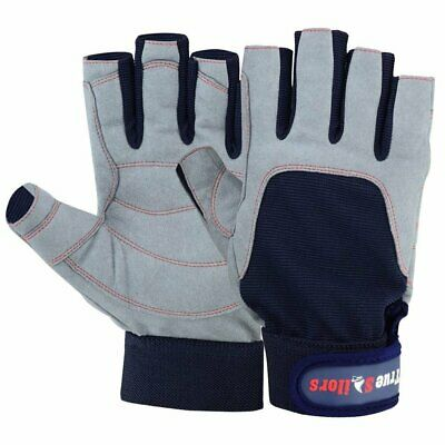 Sailing Glove Yachting Canoe Kayak Dinghy Rope WaterSki Outdoor Glove Cut Finger