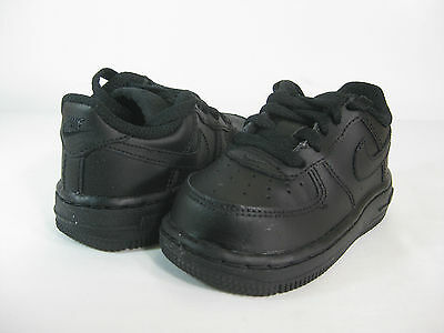 97f5ff3c NIKE FORCE 1 (TD) Baby Toddlers Shoes Black/Black 314194-009 ...