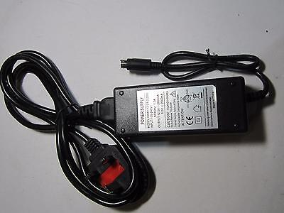Replacement Power Supply Model JHS-E02AB02-W08A 12V/5V 2A 6 PIN DIN PSU