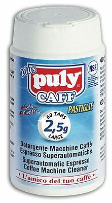 PULY CAFF Plus® 60 2.5gr Tabs NSF SUPERAUTOMATIC ESPRESSO MC CLEANING TABLETS