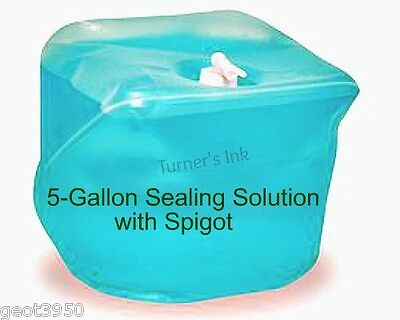 5 Gal Cubetainer Magic Seal E-Z Seal Sealing Solution  & Spigot - PB 605-0