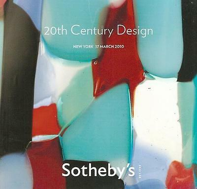 Sotheby's NO8622 20th Century Design Deco Auction Catalog March 2010