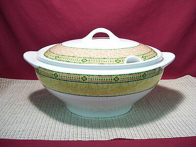 Wedgwood China Florence Pattern Oval Soup Tureen