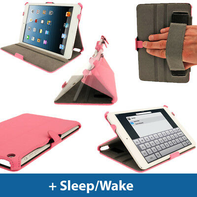 "Pink PU Leather Case for New Apple iPad Mini 7.9"" Wi-Fi 3G 16GB 32GB 64GB Cover"