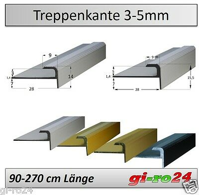 3x7mm treppenkante treppenwinkel treppenwinkelprofil treppenstufenprofil. Black Bedroom Furniture Sets. Home Design Ideas