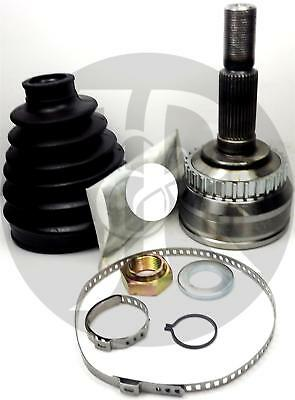 SAAB 9-3//CABRIOLET 10X DRIVE SHAFT CV JOINT BOOT KIT STAINLESS STEEL CLAMP CLIP
