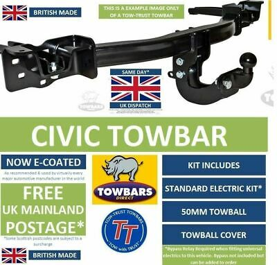 Towbar to fit Honda Civic 3/5 door Hatchback 2006 to 2012 Flange Tow Bar TH252