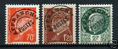 Timbres Preo 84-86 Neuf * * Gomme Originale