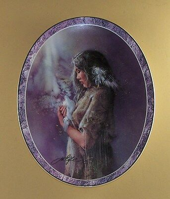 Messengers of the Spirit Plate THE GUIDE Indian Native American Lee Bogle #3