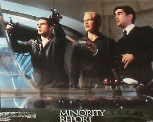 MINORITY REPORT - 11x14 US Lobby Cards - Tom Cruise, Steven Spielberg