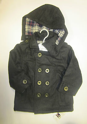 Baby boys coat ex store Mothercare wool 3 6 9 12 18 24 36 months **RRP £37*New